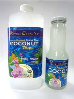 1 cup of young Thai coconut water
