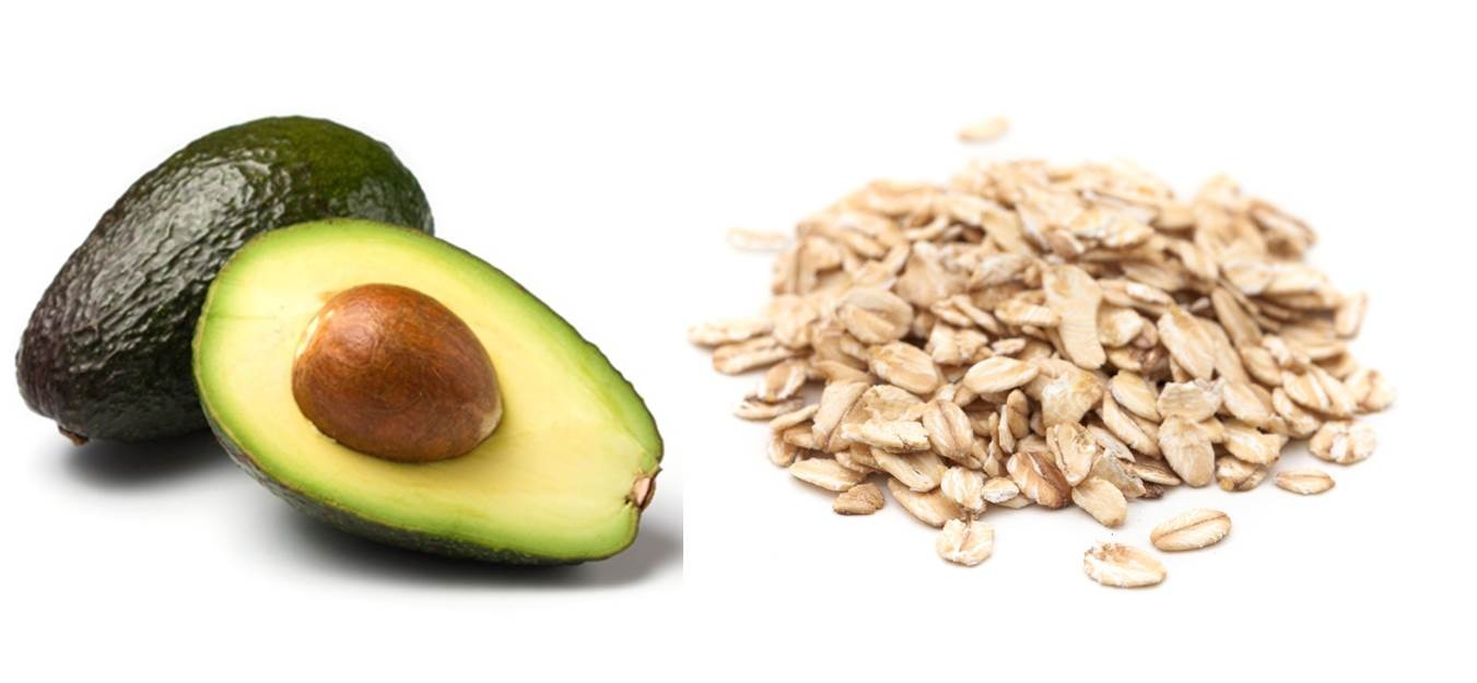 Avocado and oatmeal scrub-for oily skin  2 teaspoons of finely ground oatmeal 1 teaspoon of avocado  1 teaspoon of honey  Blend ingredient forming a thick paste,massage the mask onto damp skin in a circular motion,let it sit for 2-3 minutes then rinse with water