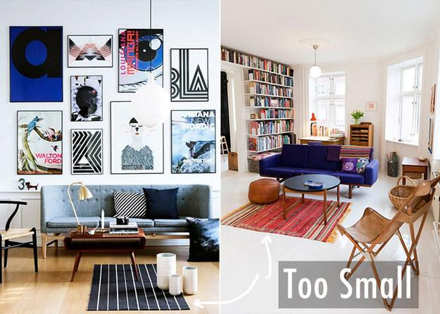 6. Too Small Rugs