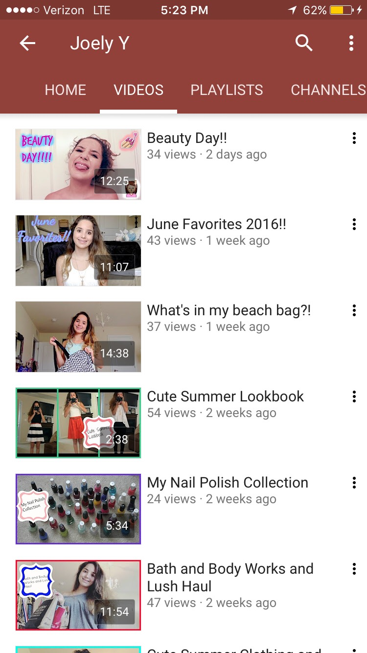 Looking for an amazing beautyYouTube channel? Subscribe to my YouTube channel: Joely Y. I do lots of beauty related videos; such as hair, makeup, and DIY videos coming soon. I hope you guys enjoy!!! I accept video requests too!!