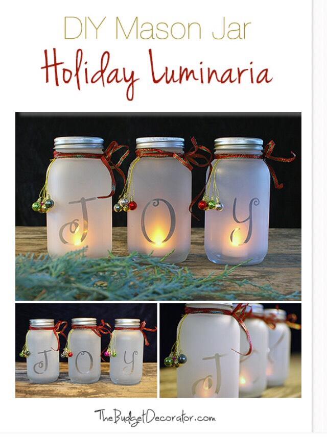 Diy Mason Jar Holiday Luminaria Musely