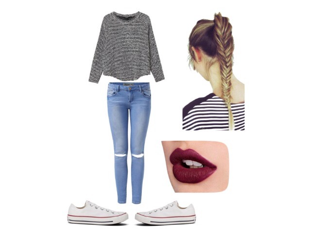 an outfit for a casual day maybe shopping maybe date?