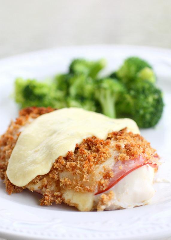 Follow this easy recipe for chicken cordon bleu!