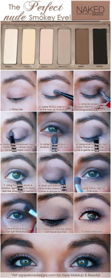 A very well done smokey eye tutorial is hard to come by, but guess what? We have one here for you. You will never look for another.