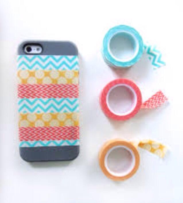 2. Washi Tape phone case