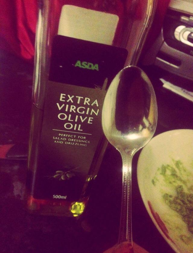 2 teaspoons of olive oil