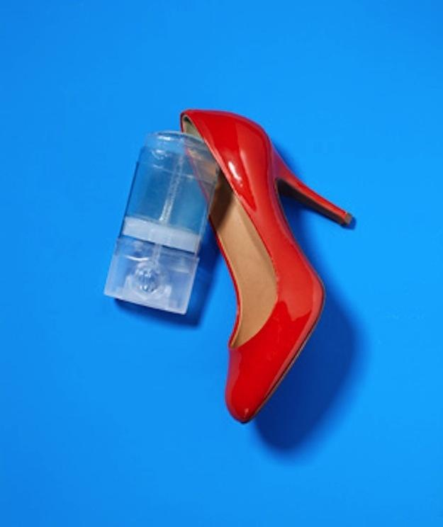 13. Deodorant helps prevent blisters when breaking in new shoes.