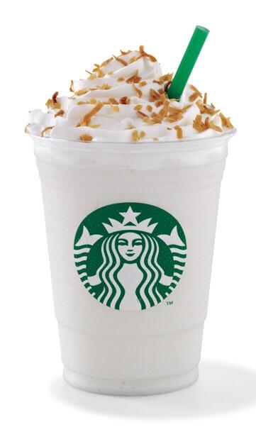 Vanilla bean frapuccino