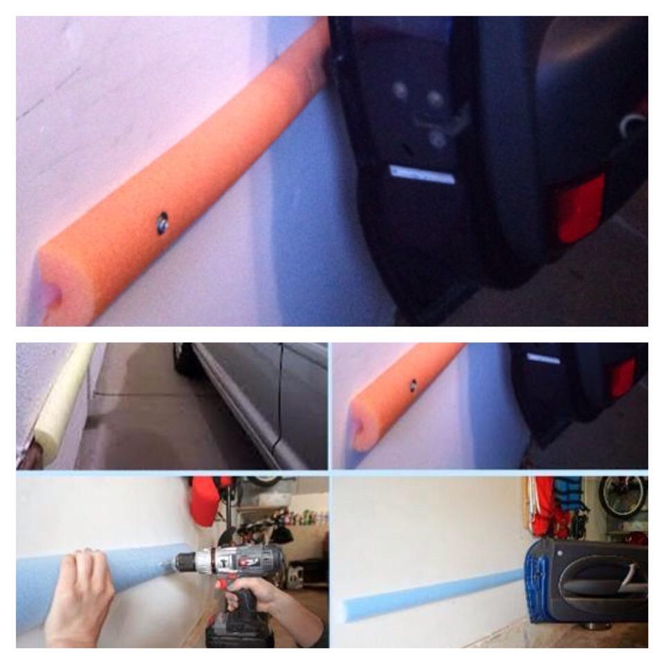 Car door protector for garage walls fluidelectric car door protector garage fluidelectric rubansaba
