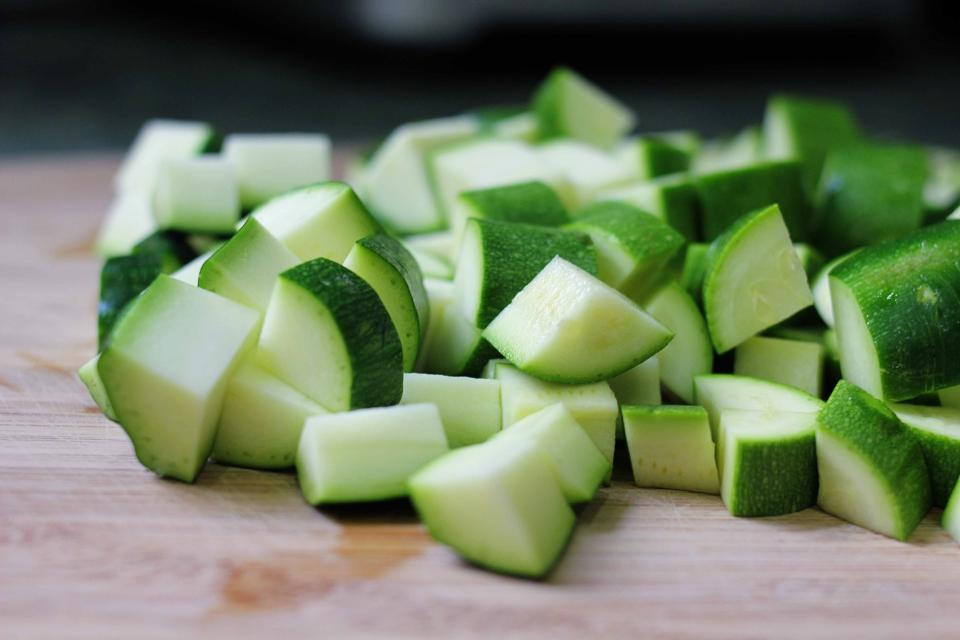 Zucchini  High in vitamins A and C, zucchini is a flavor sponge, meaning its own taste vanishes.