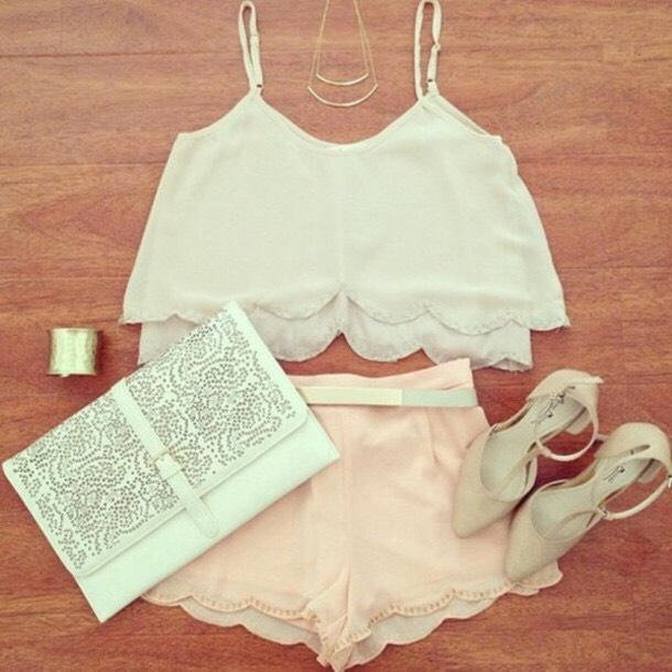 Nice girly summery outfit