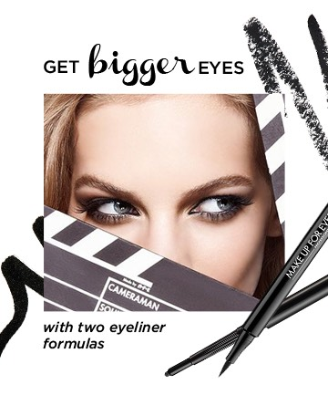 Sometimes knowing how to make your eyes look bigger requires layering on products.After applying a shadow base you should use the pencil liner and blend the ends. Take a brown, grey or taupe pencil and smudge some pencil in the outer corners of the eye and into the eye hollow and blend with a brush.