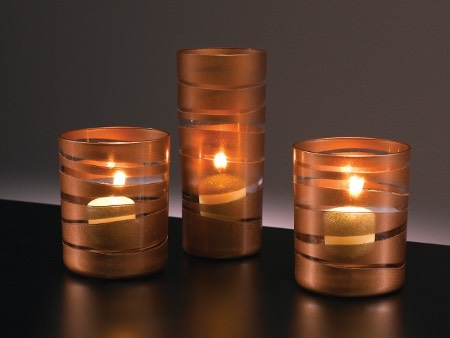 Candles are always beautiful. And can add some wonderful mood lighting for when the sun goes down