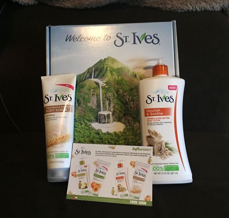 Recently I was able to try St Ives Oatmeal and Honey lotion for a product study from Inflenster.