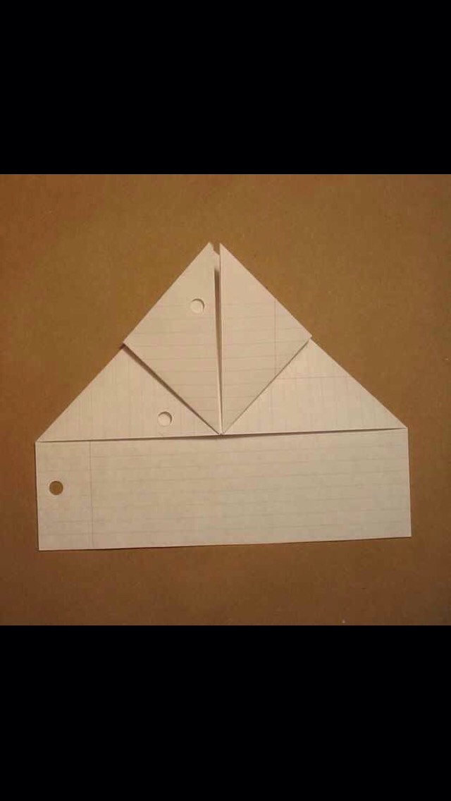 Write a note. Something romantic would be nice:) Orient the paper vertically and fold a waterbomb base at the top. There are tons of videos on how to make a waterbomb base, so seek one out if you need help.
