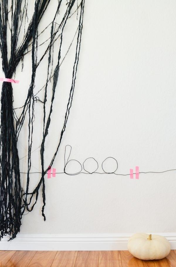 5. Wire Wall Sign