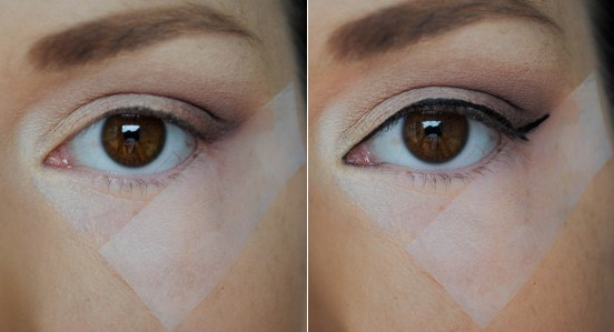 Lets be honest: we've all tried the scotch tape hack and it's EXTREMELY uncomfortable👎. Here's how to make liquid eyeliner look normal and pretty 💁