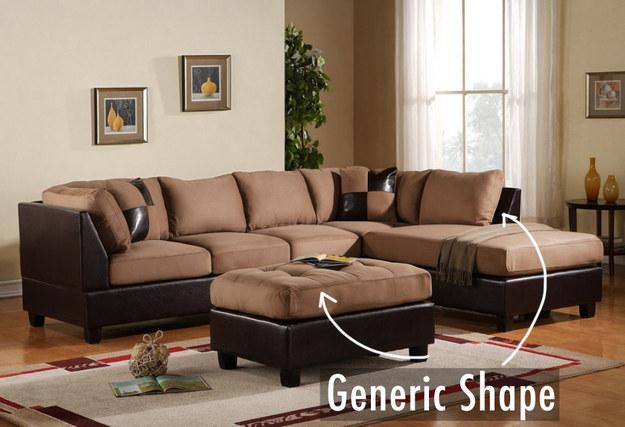 4. Don't pick a generic-looking sofa.