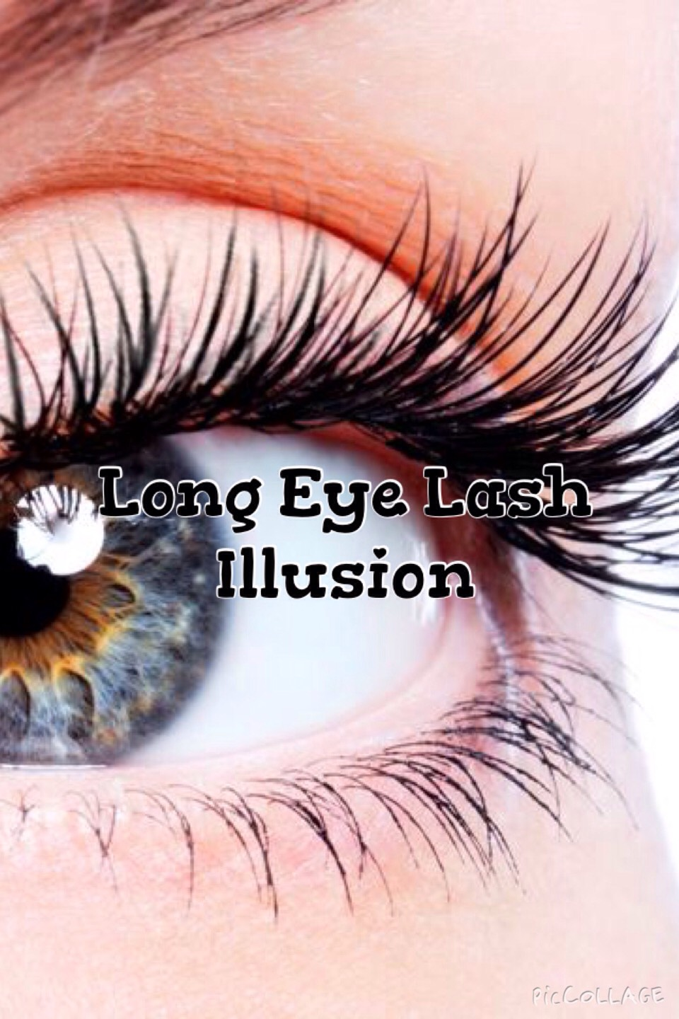 This is a quick and easy way to have the illusion of longer, fuller, lashes.