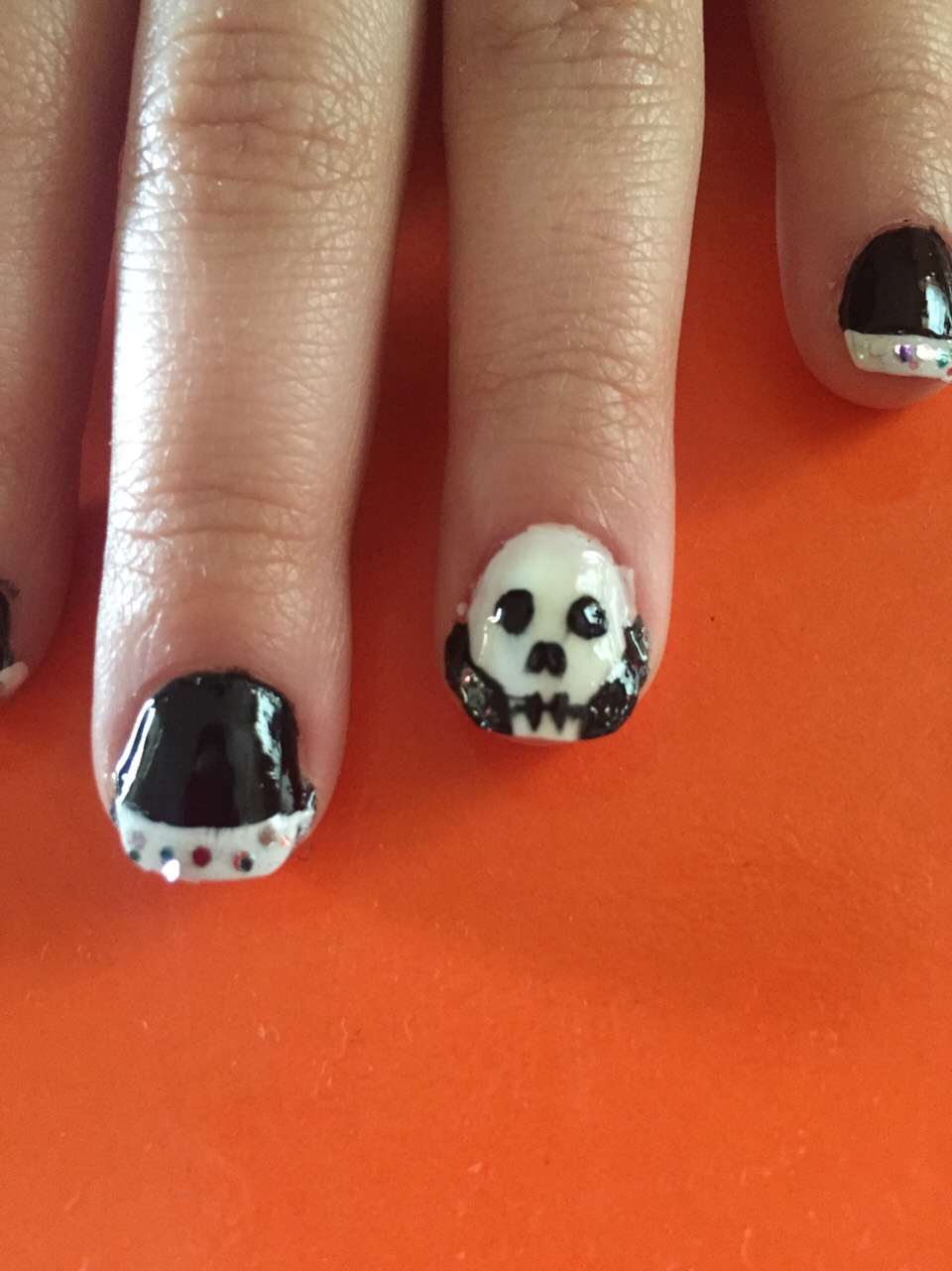 I did it on one of my friend's nails for Halloween, and she loves how it came out! I hope my tips help you too! 😁