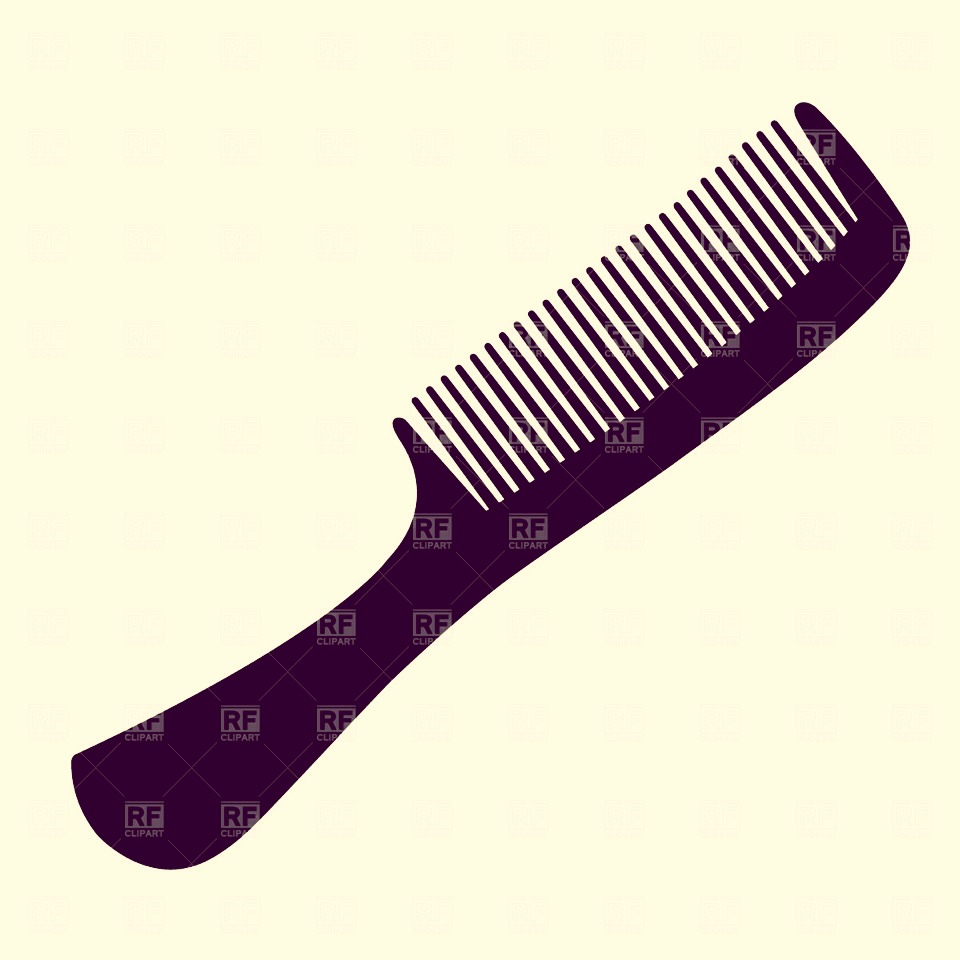 Do NOT brush hair when wet - if you need to use a comb