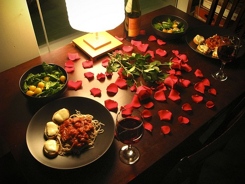 #5 a romantic day dinner 👌👌👌yummy