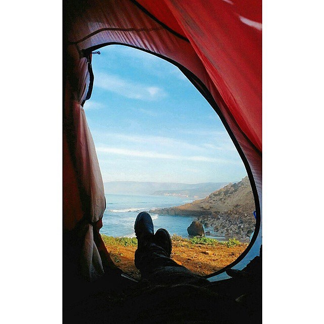 32. Pitch a tent in your backyard