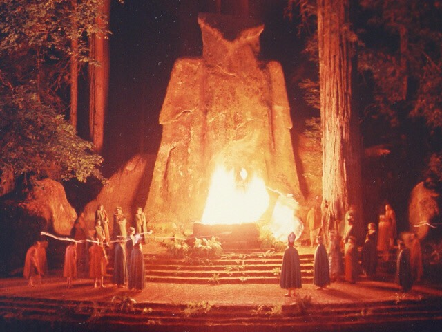 Bohemian Grove at first it might appear as a usual camping site but to get inside you'll have to be one of the world's most powerful people. Every year around mid July the grove hosts a three weekend camping party of the powerful men.