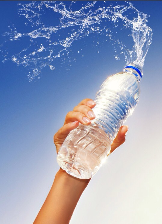 It is important that while you exercise to keep hydrated, while on your runs always make sure to have water