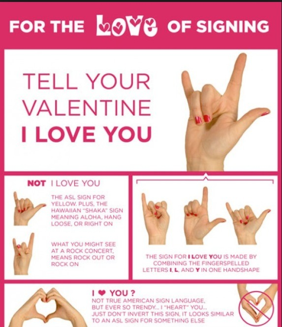 Say 💘I LOVE YOU💘 In Sign Language by Jen Johnson-Crosby