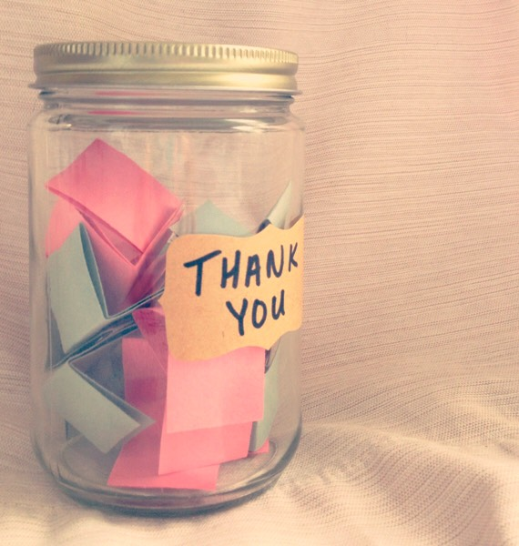 Thank You Jar💕 For someone who has helped out in your life💕