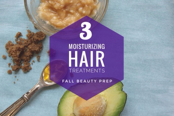 check out my tip for 3 DIY hair treatments that will get your hair ready for winter!