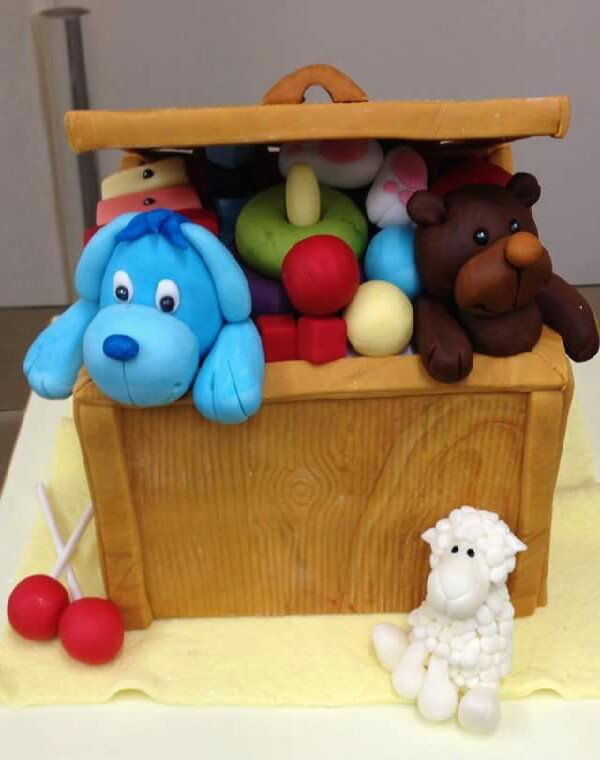 Toy box.