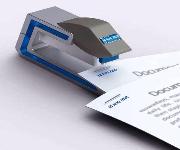 5. For teachers: a date stapler