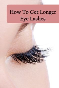 You can get long eye lashes like this in just a day. U can see changes happening over night