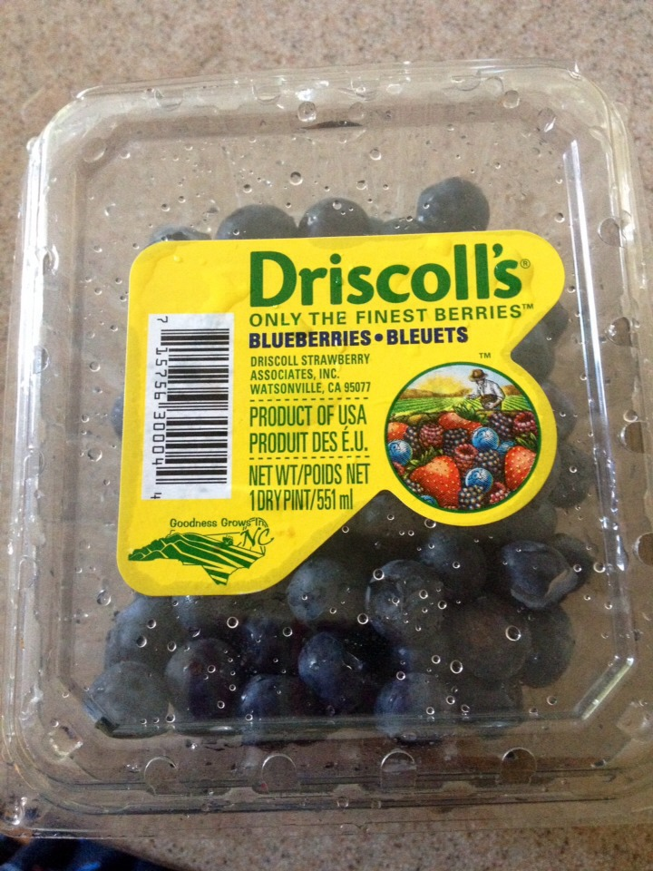 You'll need blueberries