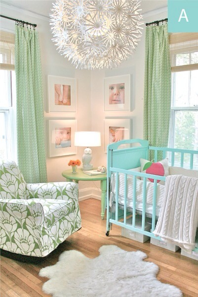 Taste of Mint  Using mint in the room makes it look so calming and peaceful.