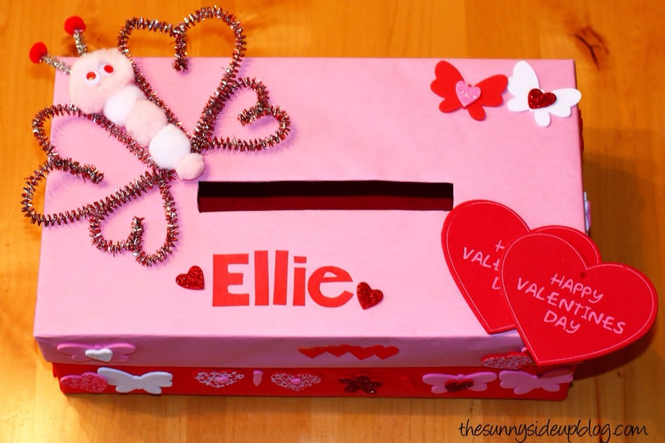 Make Your Valentine Box Ahead Of Time Using A Shoe Box!