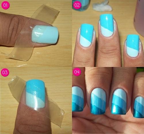 easy nail art ;)