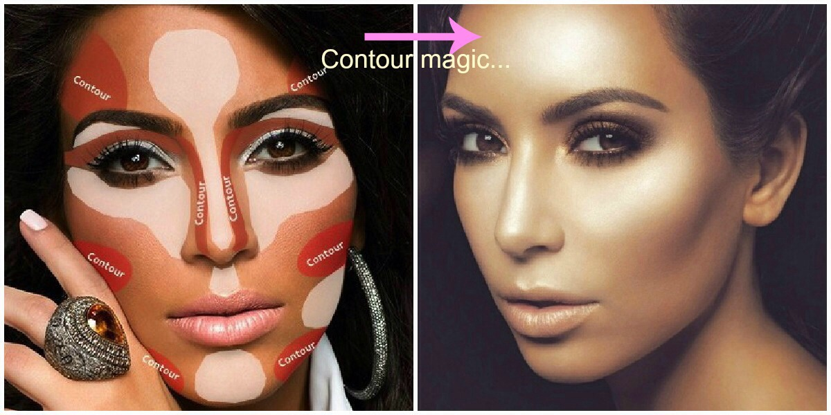 Do this. Highlight with concealer two shades or so lighter then your shade and contour with a foundation two shade darker. Put them on your face like so. THEN...