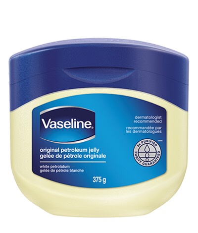 Put on vaseline to maintain the softness