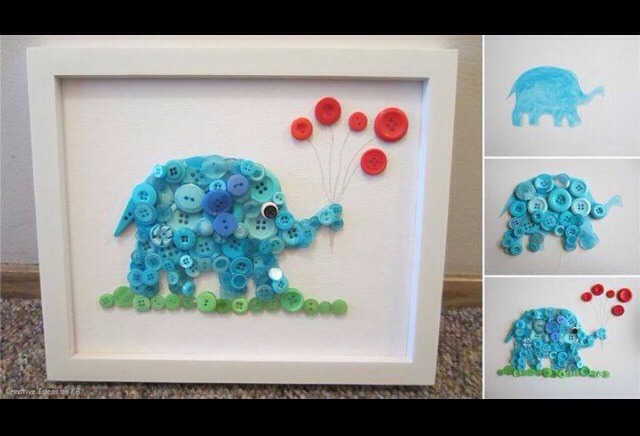 For the baby boy room! ...you can change the color for a baby girl room! :-)
