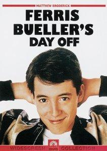 4.  No good Ferris Beuller decides to fake being sick in order to get out of school so he can explore the big city and get into no good with his girlfriend and best friend.