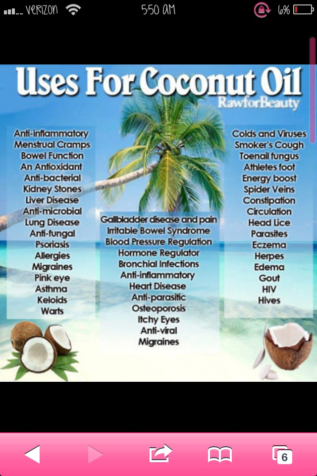 I love coconut oil. It is just flat out amazing!