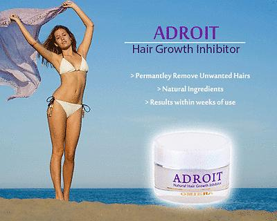 Summer is Coming soon! Adroit Removes unwanted Body Hair