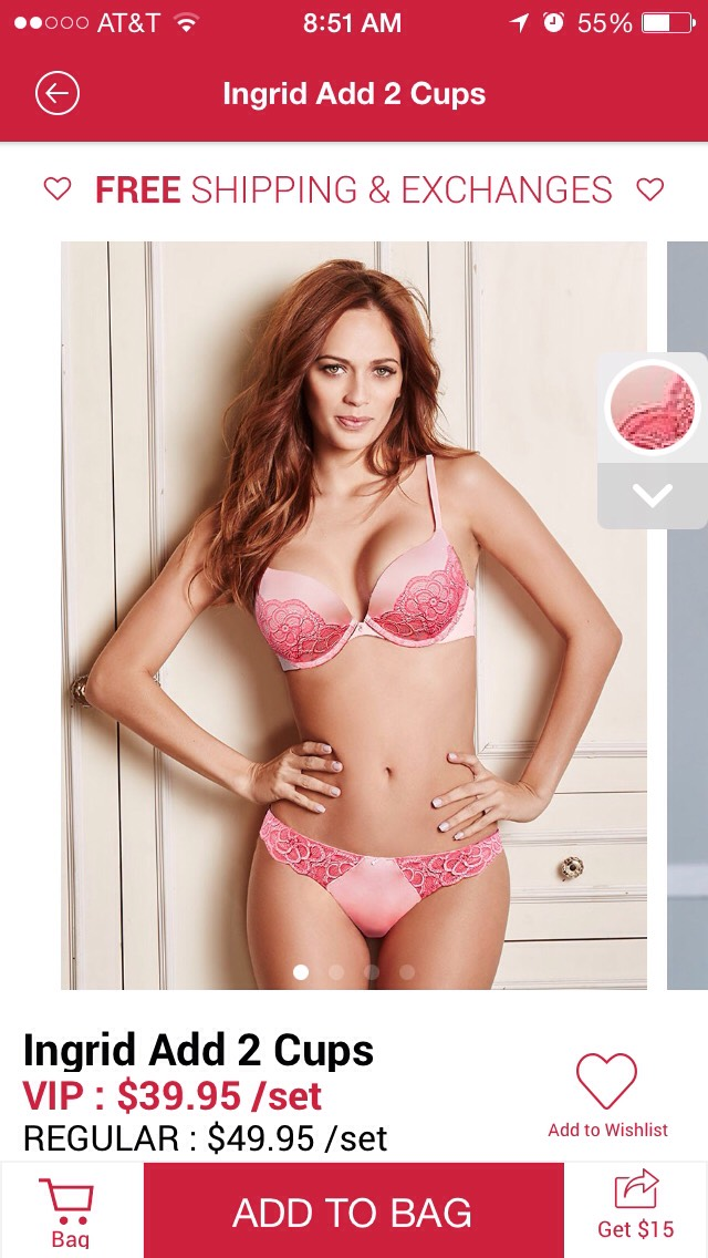Sexy designer lingerie – want a set for $25? This is my personal link > https://www.adoreme.com/?referral=1686995