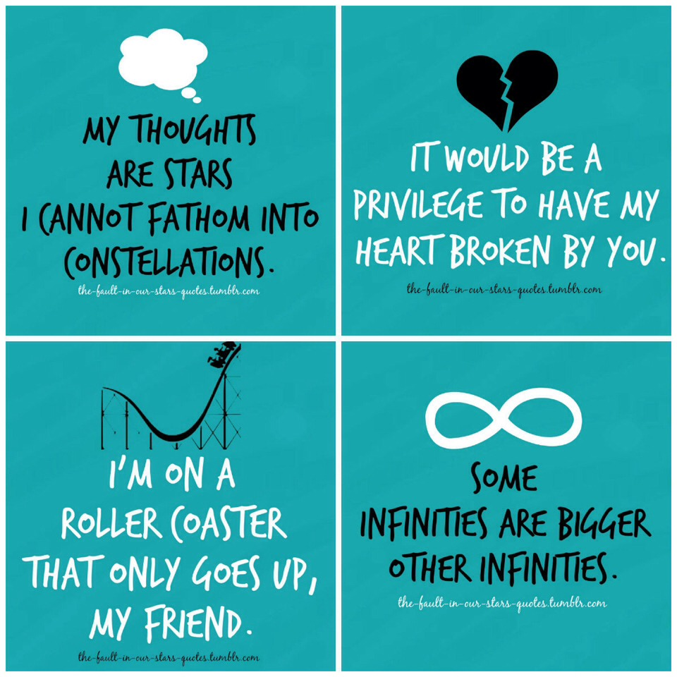 Pack an arsenal of Tfios quotes