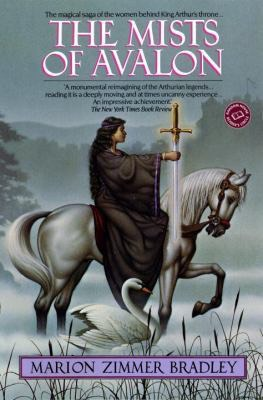 The mists of Avalon. LOVE this book. Romance weaves itself throughout this book. It's the story of the WOMEN behind the king author legend, Morgaine, Igraine, Morgause, Guinevere, Viviane (the lady of the lake) great book for ages 14+ (rape, sex)
