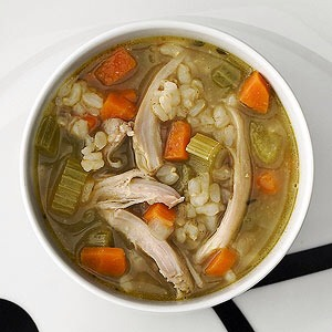 Bonus recipe: Parents advisor Elisa Zied, R.D, recommends this yummy chicken & brown rice soup.