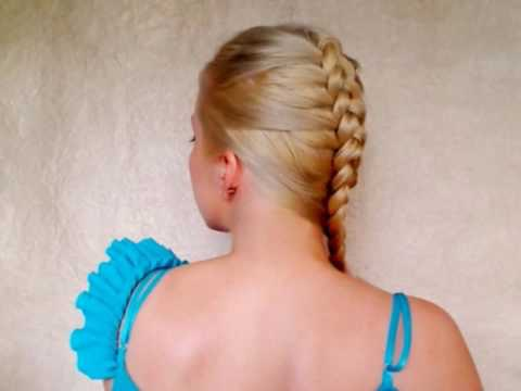 This is another easy braid which looks stunning when fineshed